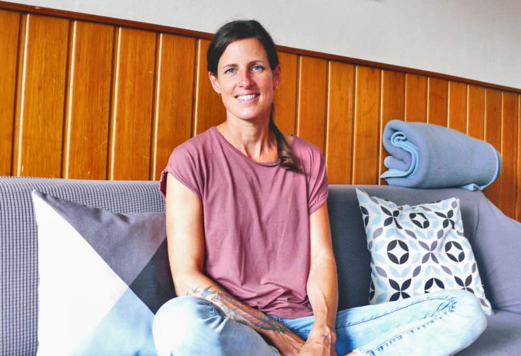 Maren Wicking, Hauswirtschafterin im Frauenhaus Bochum